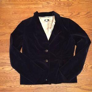 Beautiful Navy Blue Velvet jacket